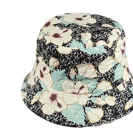 Hibiscus  Bucket Hat
