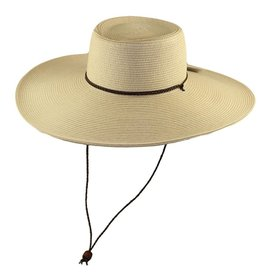 Paper Braid Large Brim Straw Hat