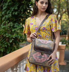 Myra Bag Majestic Kilim Messenger Bag