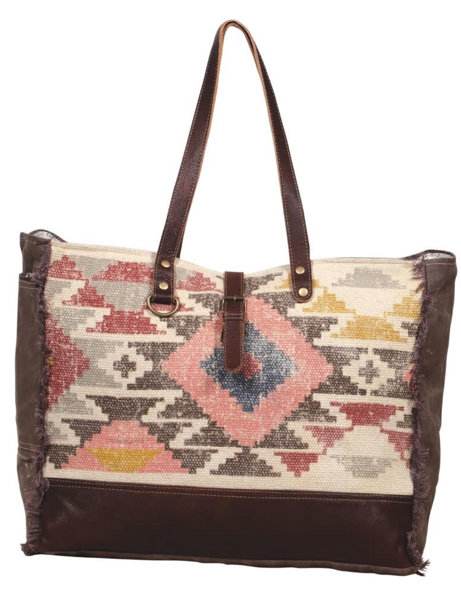 Myra Bag Aztec Pretty Cool Weekender Bag