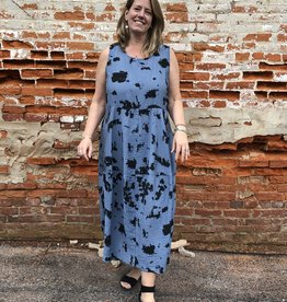 Cut Loose Inkblot  Bubble Dress