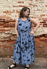 Cut Loose Inkblot  Bubble Dress