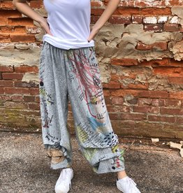 Inoah Idea Art Harem Pants