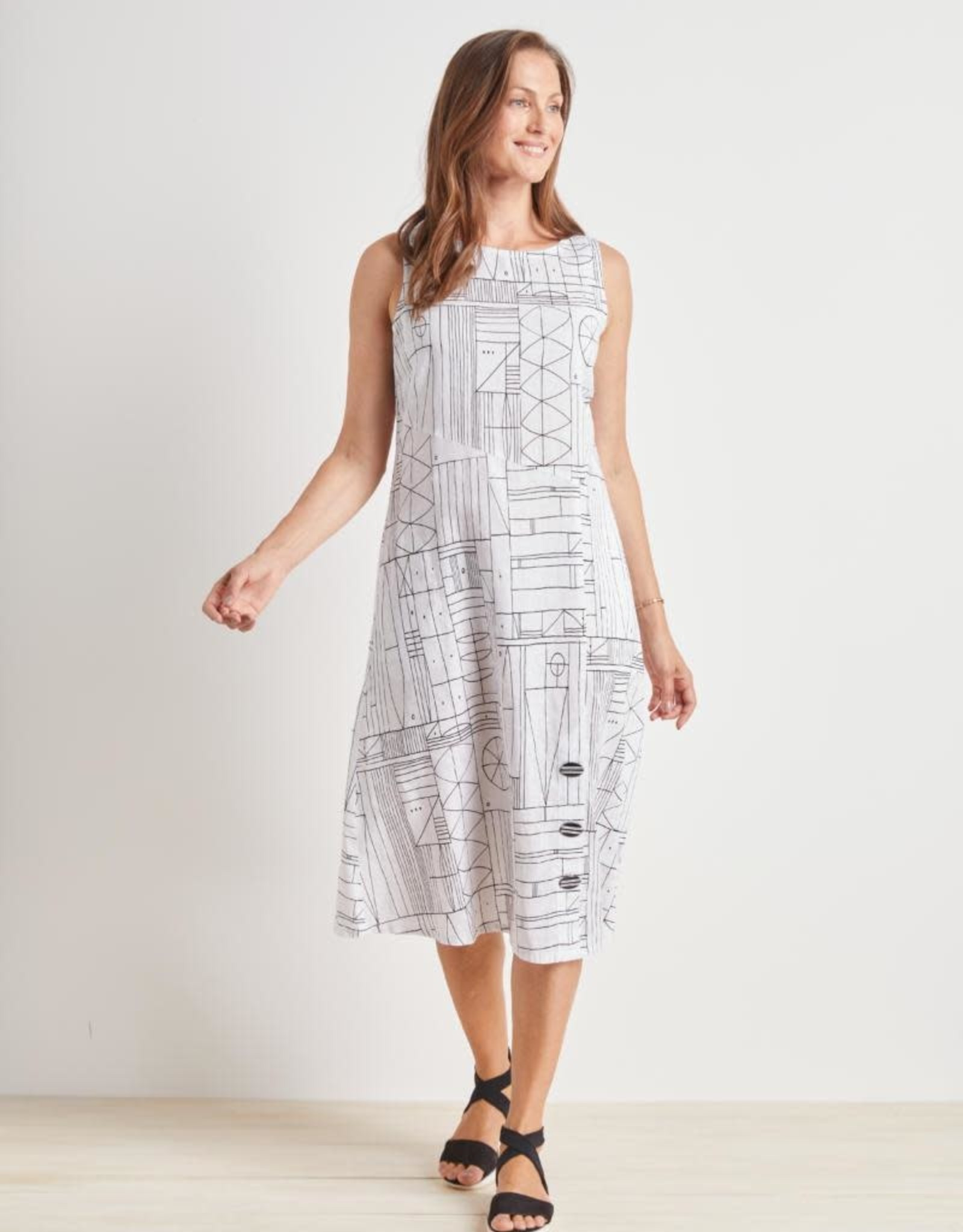 Habitat Abstract Tribal Dress