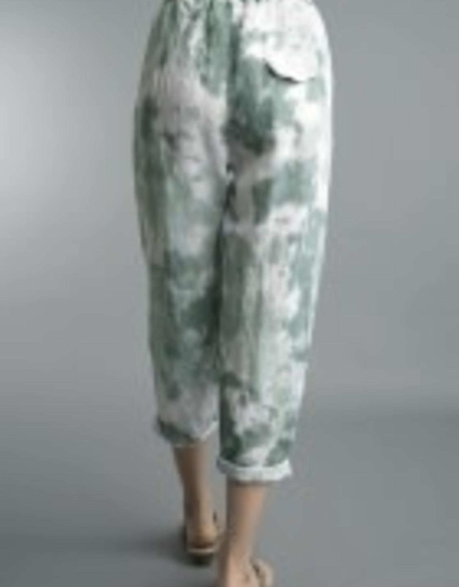 Tempo Paris Linen Tie Dye Pants