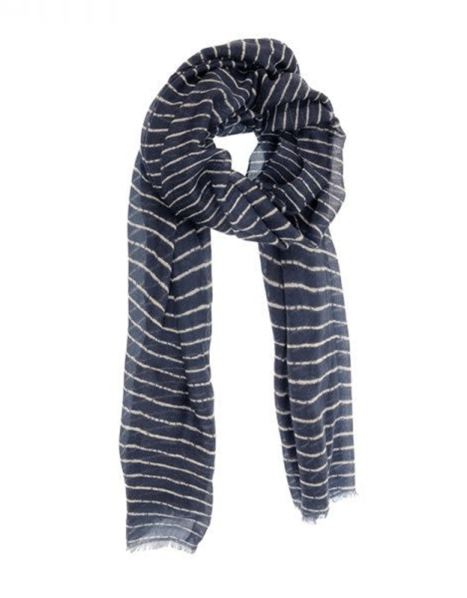 Joy Susan Accessories Broken Stripe Scarf