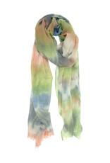 Joy Susan Accessories All Over Tie Dye Scarf