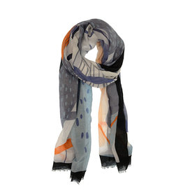Joy Susan Accessories Contemporary Floral Scarf