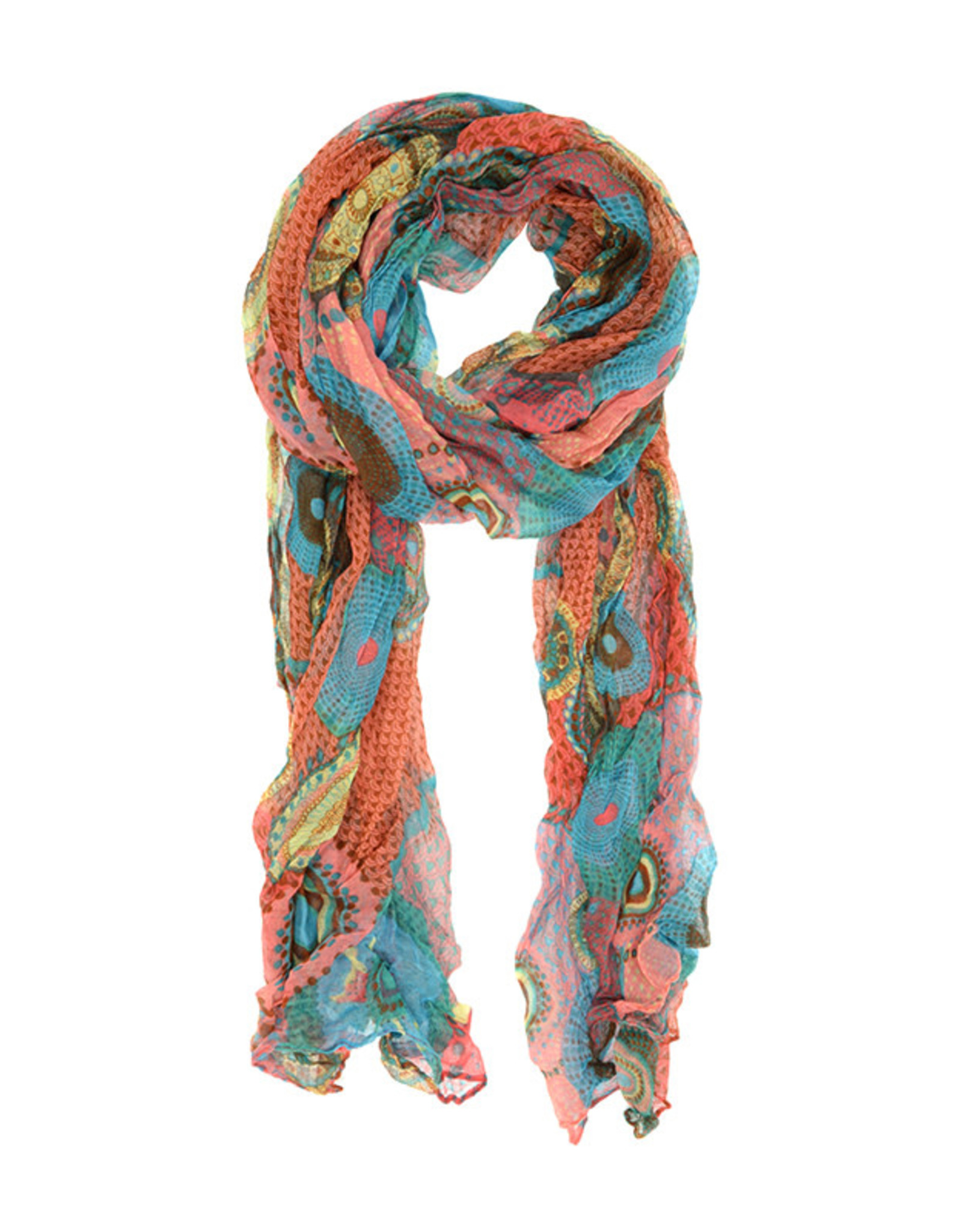 Joy Susan Accessories Dots and Daisy Scarf