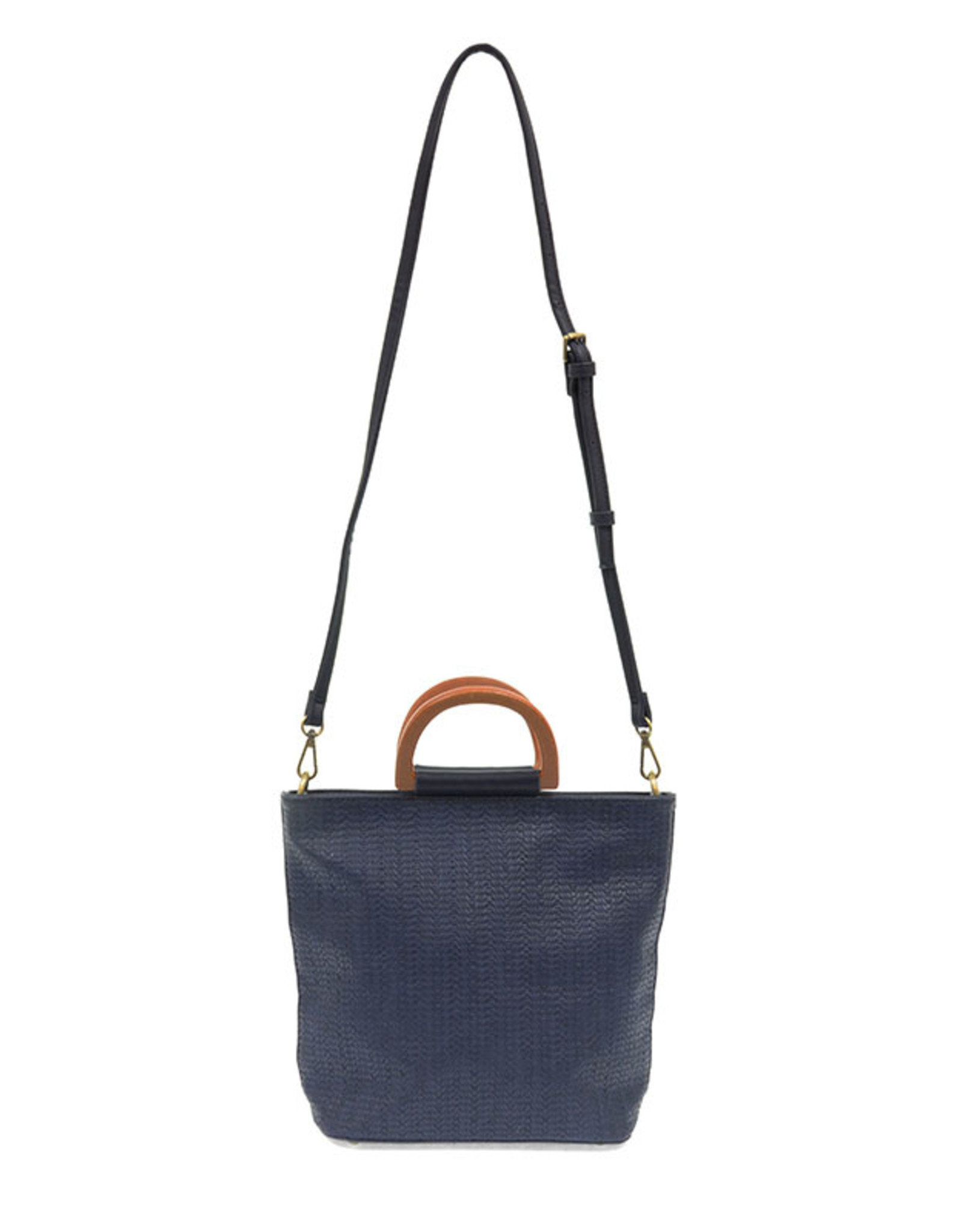 Joy Susan Accessories Lily Woven Wood Handle Tote
