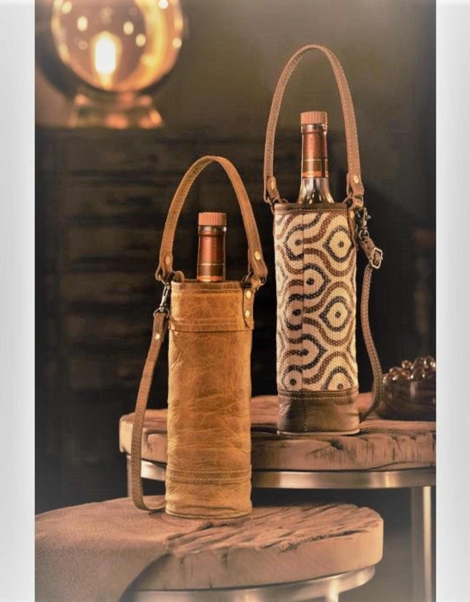 Myra Bag Artisan Woven Wine Bags