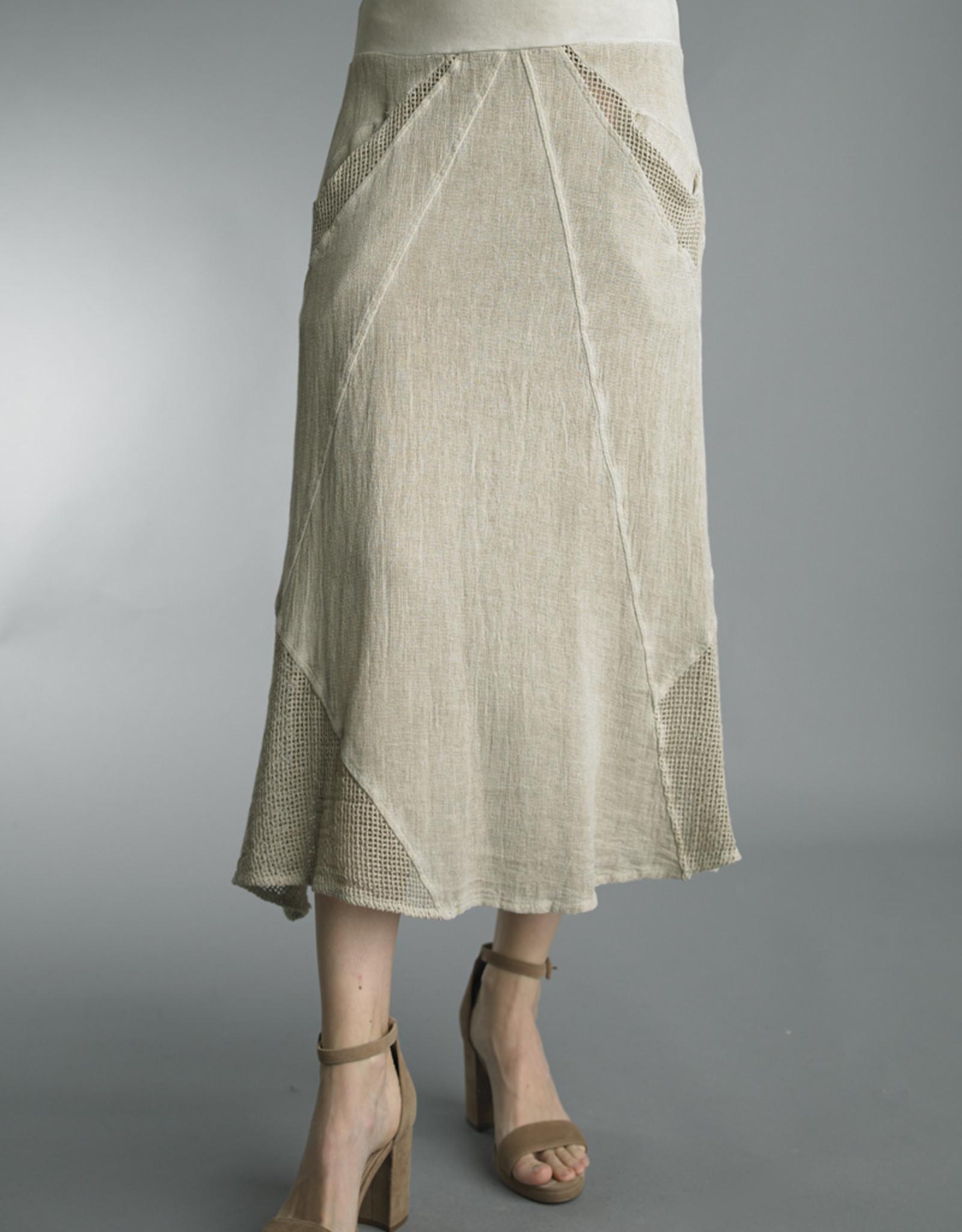 Tempo Paris Perfect Summer Linen Skirt