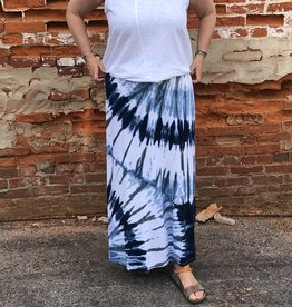 Wind River Tie Dye Long Skirt