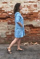 Wind River Batik Half Sleeve Dress