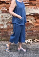Kleen Idea, Inc Linen Tab Crop Pant