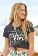 "Natural Life Perfect ""Live Happy"" Tee"