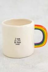 Natural Life Rainbow Mug
