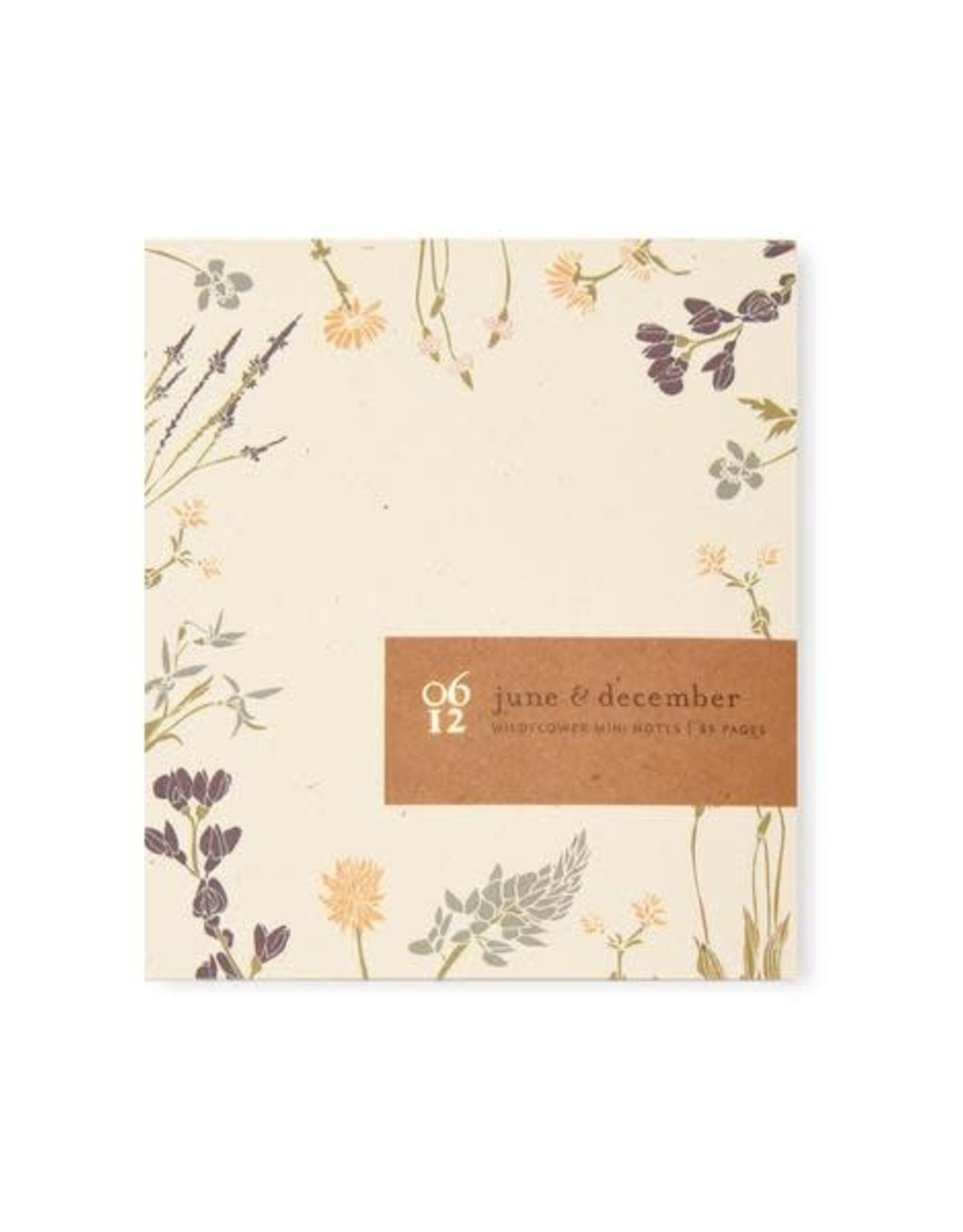 June and December Wildflower Mini Notes