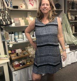 Wind River Tribal Printed Tank Dress