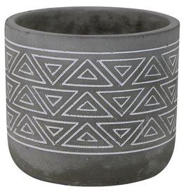 HomArt Totem Cement Cachepot