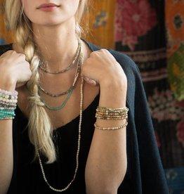 Scout GemStone Wrap Bracelet/Necklace