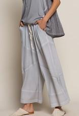 POL Clothing Knit Culotte Pant