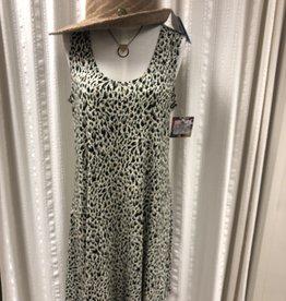 Salaam Sleeveless Lucy Animal Print Dress