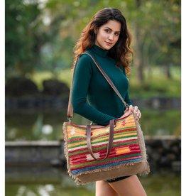 Myra Bag Technicolor Weekender Tote Bag
