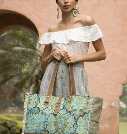Myra Bag Aqua Magic Weekender Tote Bag