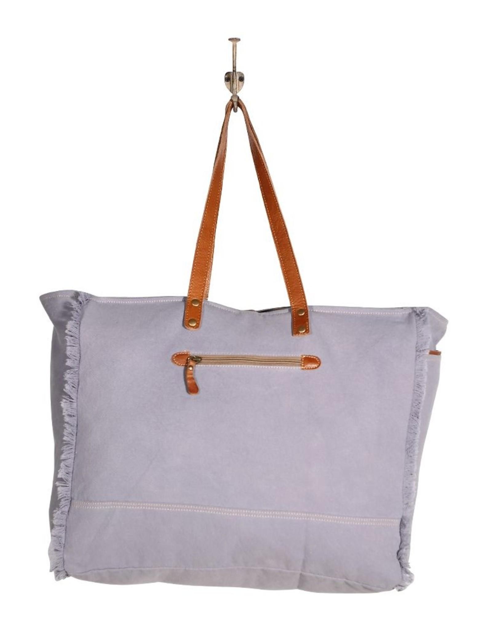 Myra Bag Spacious Aztec Weekender Tote Bag