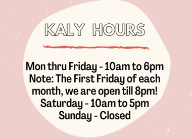 Shopping Options and Hours at KALY