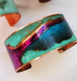 """SSD Jewelry Purple Mixed Patina Cuff  1.25"""""""