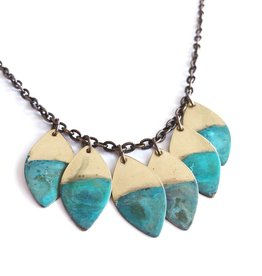 SSD Jewelry Little Rising Tide Leaf Necklace