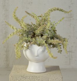 HomArt Rory Ceramic Face Vase
