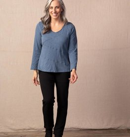 Habitat Seamed Cropped Pullover Top