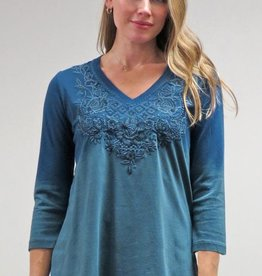 Caite Embroidered Jaye Top