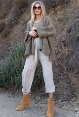 POL Clothing Cozy Chunky Cardigan