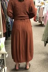 Cut Loose Pocket Cargo Skirt