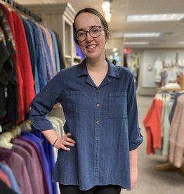 Kleen Idea, Inc Textured Big Shirt