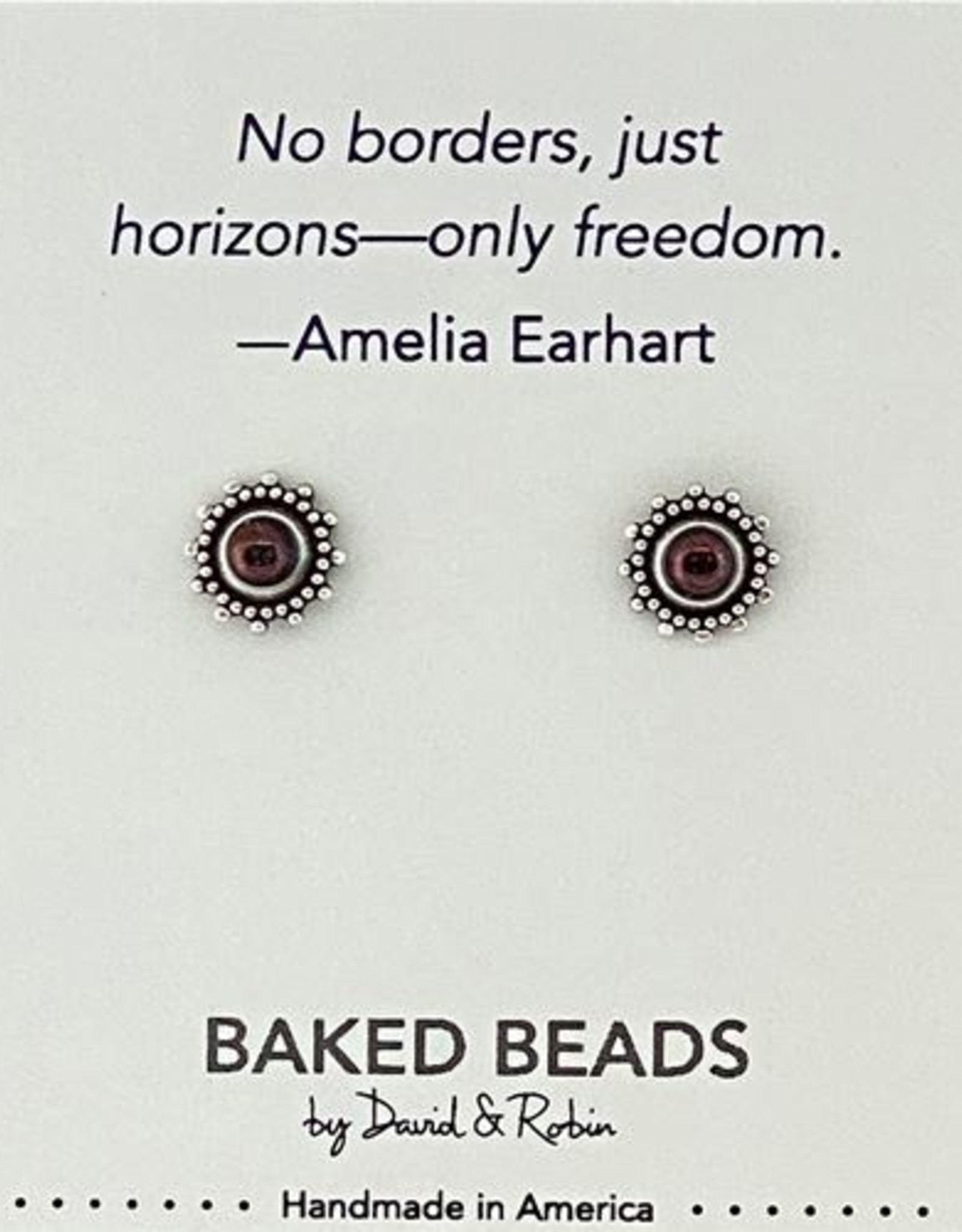 Quotestone Post Earrings
