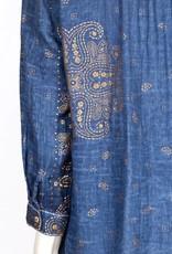 Dolma Jemima Gauze Printed Tunic