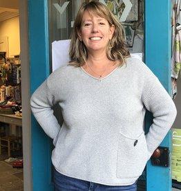 Habitat Cotton Pieced Boxy Sweater