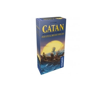 CATAN CATAN EXT: PIRATES & DECOUVREURS 5-6 JOUEURS