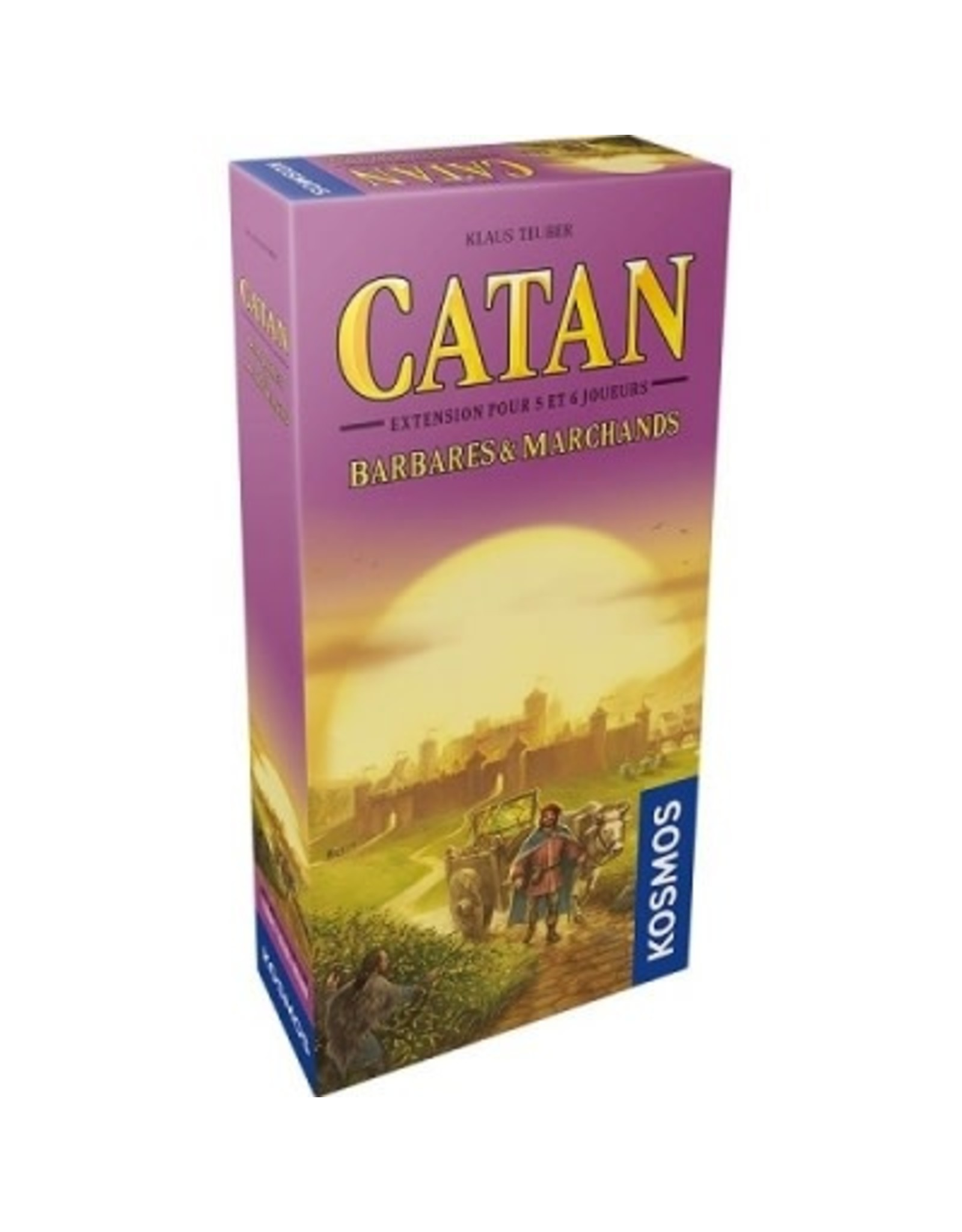 KOSMOS CATAN EXT: MARCHANDS & BARBARES 5-6 JOUEURS