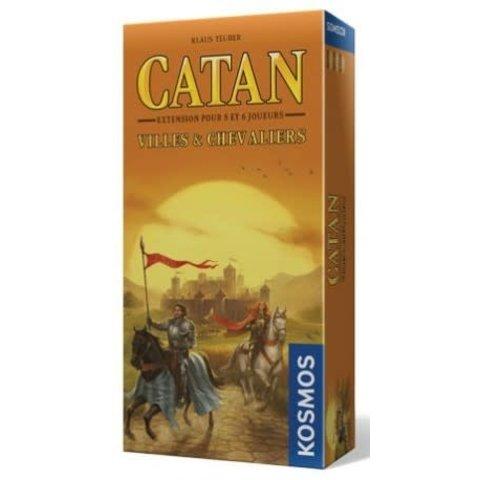 CATAN EXT: VILLES ET CHEVALIERS 5-6 JOUEURS
