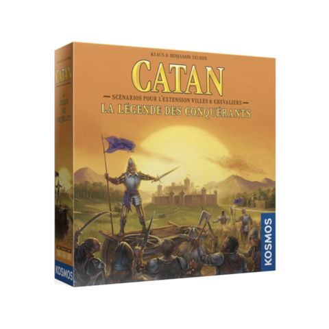 CATAN: LEGENDE DU CONQUERANT (FR)