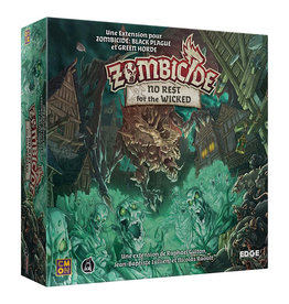CMON ZOMBICIDE BLACK PLAGUE : NO REST FOR THE WICKED (FR)