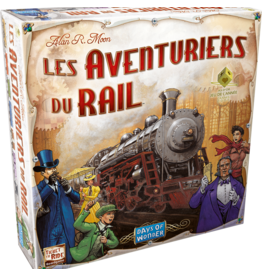 DAYS OF WONDER AVENTURIERS DU RAIL (FR)