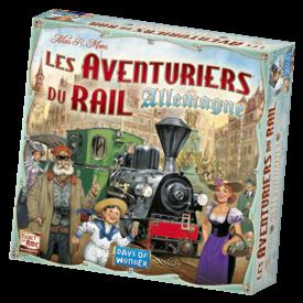 DAYS OF WONDER AVENTURIERS DU RAIL - ALLEMAGNE (FR)