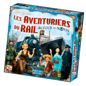 DAYS OF WONDER AVENTURIERS DU RAIL : AUTOUR DU MONDE